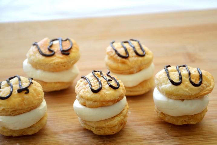 פחזניות, פחזניות קנאביס, עוגיות קנאביס, Pastry Cream, cannabis pastry